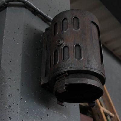 Faro da teatro utilizzabile come lampada applique
