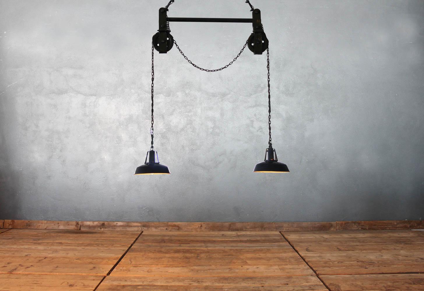 Illuminazione con carrucole illuminazione con carrucole
