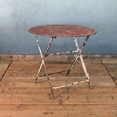 Tavolino da bistrò francese anni'20
