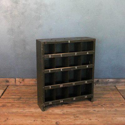 Cassettiera in ferro anni '40