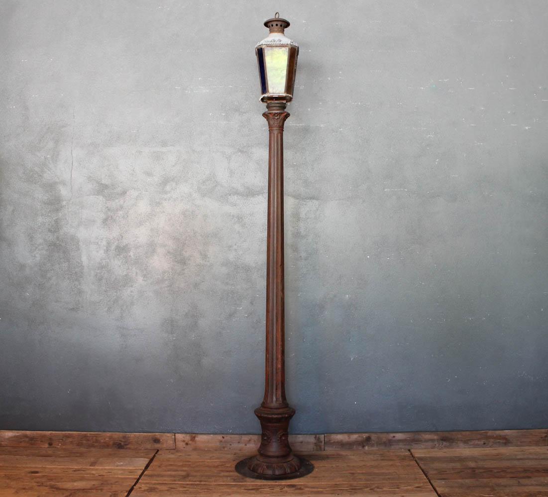 Lampione in ghisa dei primi del '900