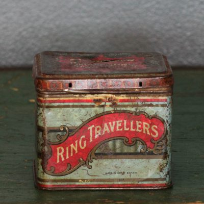 Scatola di caramelle in latta anni '50