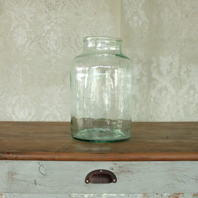 Vaso in vetro soffiato da cetriolo 10 lt